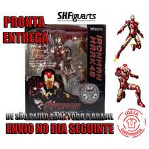 Boneco Iron Man Mark 43 Homem Ferro Shfiguarts Avengers 2