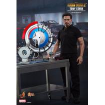 Tk0 Toy Hot Toys Marvel Iron Man 2 Tony Stark Arc Reactor
