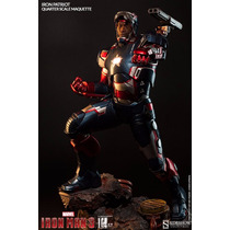 Sideshow Iron Man 3 Iron Patriot Premium Format Maquette