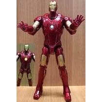 Marvel Homem De Ferro Iron Man 30cm Usado Hasbro Eletronico