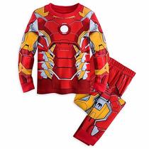 Pijama Iron Man Homem De Ferro Disney Marvel Avengers 8anos