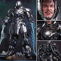 Hot Toys Iron Man 2 Diecast Mark Ii Whiplash Mickey Rourke