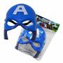 Mascara Capitão America Iluminada Para Crianças E Adultos