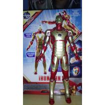 Vingadores Iron Man Mark 42 Eletrônico Original Hasbro