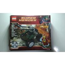 Conjunto Ironman Boneco E Tanque Lego Super Heróis Dc Marvel