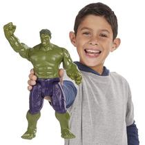 Boneco Eletrônico Hulk Som Vingadores Era De Ultron Hasbro