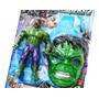 Kit Boneco Hulk+mascara