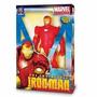 Boneco Homem De Ferro Iroman Gigante 55cm Mimo Brinquedos