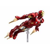 Homem De Ferro Figma 217 Iron Man Lacrado Original Completo
