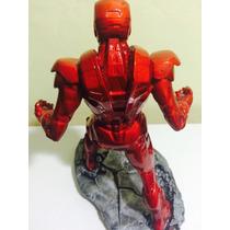 Iron Man - Homem De Ferro Em Resina Maciço. Colecionavel
