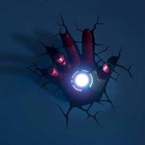 Luminária Marvel - Mão Homem De Ferro