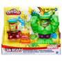Massinha Play Doh Marvel - Hulk Esmaga - Vingadores - Hasbro