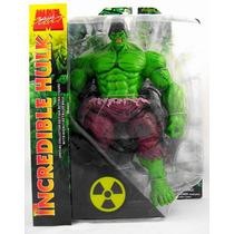 Boneco O Incrivel Hulk Verde Marvel Select Comics Dc Hottoy