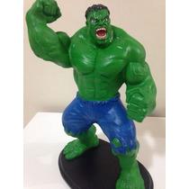 Estátua Hulk Marvel Grande Em Resina - 42cm