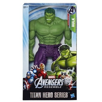 Hulk Marvel Avengers Titan Hero Series Vingadores - Hasbro.