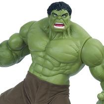 Boneco Hulk Premium Grande 55cm Marvel Gigante Ecoop