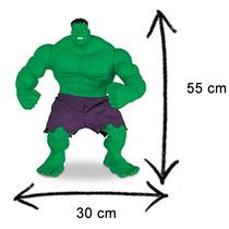 Boneco Hulk Marvel Verde Mimo Plástico Os Vingadores