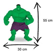 Boneco Hulk Marvel Gigante 55 Cm Articulável Brinquedos Mimo