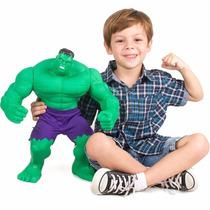 Boneco Marvel Hulk Gigante 55 Cm- Mimo 5 Pontos Articulado