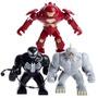 Hulk Buster Rino Venom Tipo Lego Para Montar Lindos Bonecos