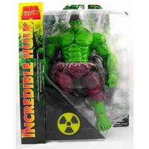 Boneco O Incrivel Hulk Verde Marvel Select