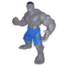 Boneco Hulk Cinza Premium Gigante 55 Cm - Mimo Brinquedos...