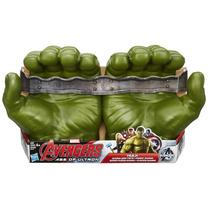 Luvas Do Incrível Hulk Avengers Brinquedo Infantil (1 Par)