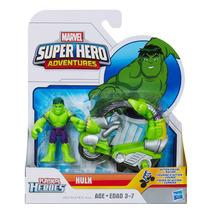 Boneco Hulk Racer Playskool Super Hero + Veículo - Hasbro