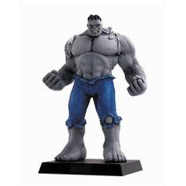 Miniatura Hulk Cinza - Especial Marvel Figurines Eaglemoss