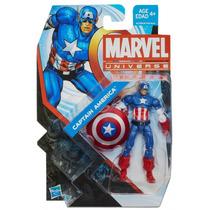Capitão America - Captain America - Marvel Universe - Hasbro