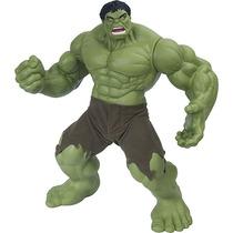 Boneco Hulk Verde Premium Mimo 51 Cm