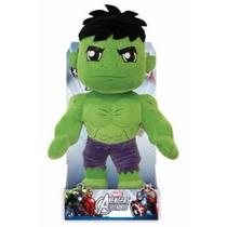 Boneco Hulk Avengers Em Pelúcia Antialérgico C/ Display