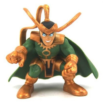 Marvel Super Hero Squad King Loki Loose - Brinquetoys