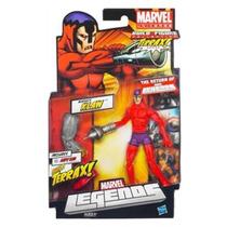 Marvel Legends - Construa Terrax Perna Esquerda - Klaw 16 Cm