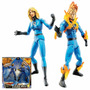 Invisible Woman Human Torch 6 Marvel Legends - Raro Lacrado