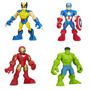 Wolverine Ironman Hulk Captain American Kit 4 Uni Hasbro