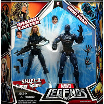 Stealth Armor Iron Man Sharon Carter Shield Marvel Legends