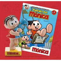 Coleção Turma Da Monica Miniatura - Vol.1 Monica