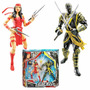 Elektra And Ronin - Marvel Legends - Interchangeable Parts