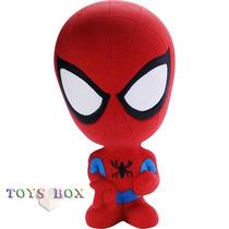 Miniatura Boneco Marvel De Latex - Mordedor - Homem Aranha