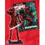 Miniatura Marvel Deadpool Eaglemoss + Revista
