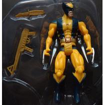 Boneco Marvel Wolverine Liga Da Justiça 16 Cm. Articulado