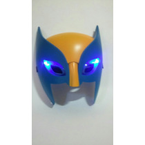 Máscara Wolverine X-men 20cm Led Marvel