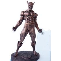 Boneco Wolverine - Estátua Em Resina