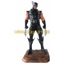Boneco Wolverine X Force - Estatua Em Resina