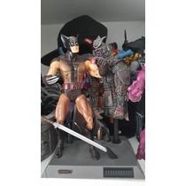 Wolverine Marrom X-men Marvel Select Boneco Figura Diamond