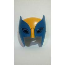 Máscara Wolverine X-men 20cm Led Marvel