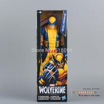 Frete Grátis - Boneco Wolverine X-men Marvel Original 30 Cm