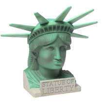X Men - Estatua Liberdade - Lady Liberty Playset - Toy Biz