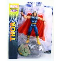 Boneco Thor (visual Antigo) Marvel Select - (diamond)